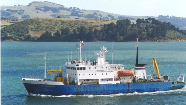 Российское судно Академик Шокальский, архивное фото