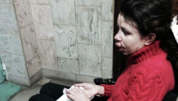 Украинская журналистка Татьяна Чорновил в больнице после избиения