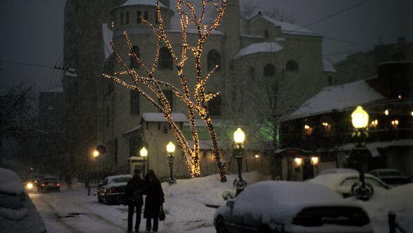 В переулке улицы Остоженка. Архивное фото