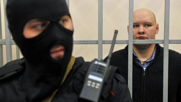 Лидер националистической организации Лига обороны Москвы Даниил Константинов, обвиняемый в убийстве. Архивное фото