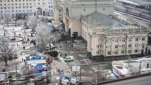 Теракт на железнодорожном вокзале в Волгограде. Фото с места события