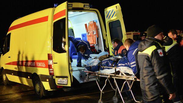 Пострадавшие в результате теракта в Волгограде. Архивное фото