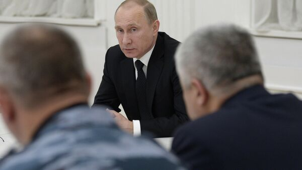 Рабочая поездка В.Путина в Волгоград. Фото с места событий