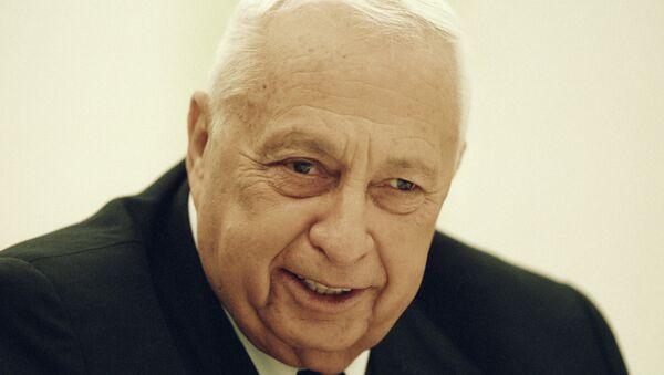 Бывший премьер-министр Израиля Ариэль Шарон. Архивное фото