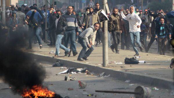 Столкновения сторонников и противников экс-президента Мурси в Египте. Архивное фото