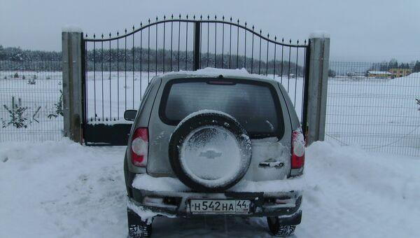 Захват земли в Кадыйском районе Костромской области