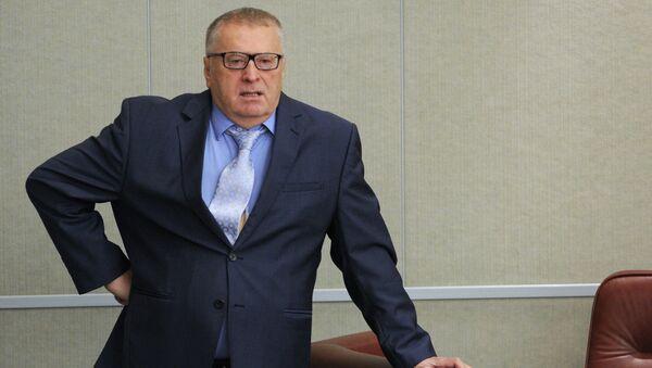 Лидер ЛДПР Владимир Жириновский