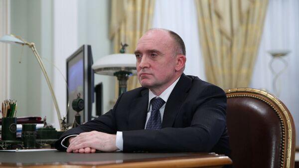 Встреча В.Путина и Б.Дубровского в Ново-Огарево. Архивное фото