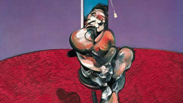 Фрэнсис Бэкон. Портрет говорящего Джорджа Дайера. 1966