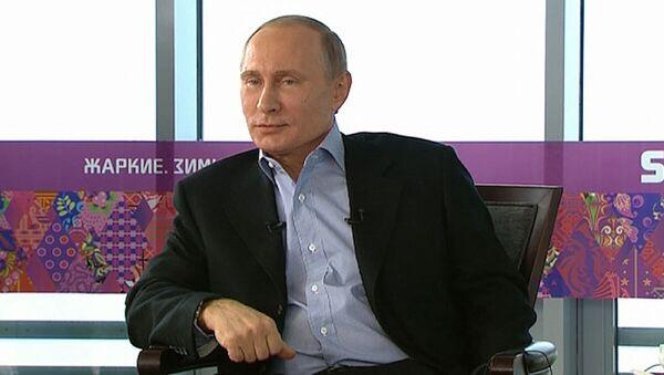 Путин о безопасности на ОИ-2014, бойкоте Игр и безвизовом режиме для гостей