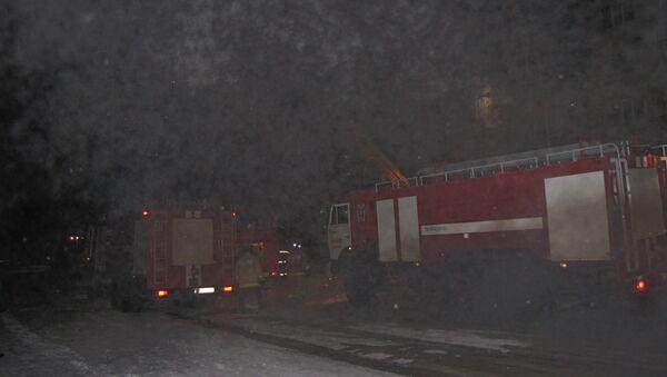 Пожар в Янауле, Башкирия