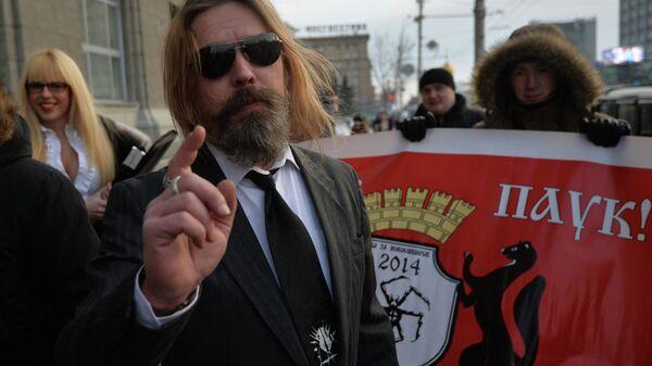 Кандидат Сергей Паук Троицкий выдвинулся на выборы мэра Новосибирска