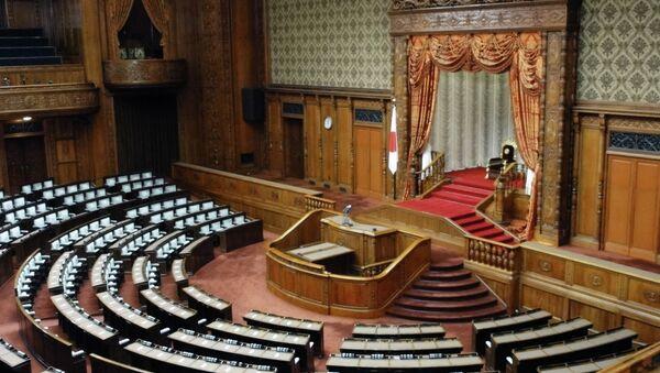 Сессия парламента Японии. Архивное фото
