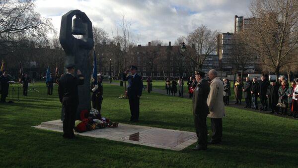 Акция памяти жертв Холокоста в Лондоне. Архивное фото