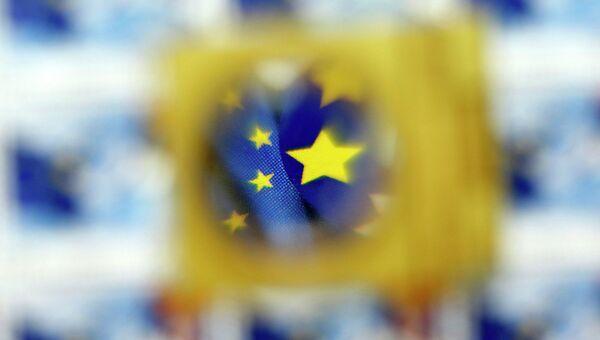 Флаг и символика Евросоюза, архивное фото