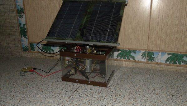 Солнечный трекер в Томском политехническом университете