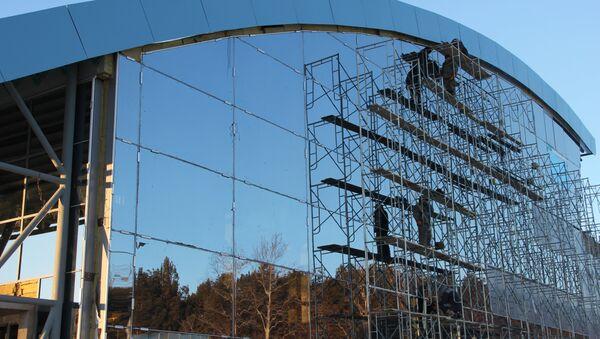 Железнодорожная станция Ледяная, которая является одним из объектов будущего космодрома Восточный (Амурская область). Архивное фото