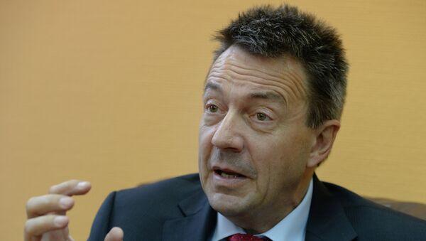 Президент Международного Комитета Красного Креста (МККК) Петер Маурер. Архивное фото