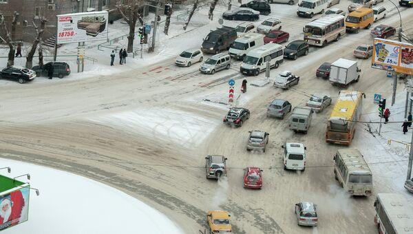 Транспорт на улицах Новосибирска