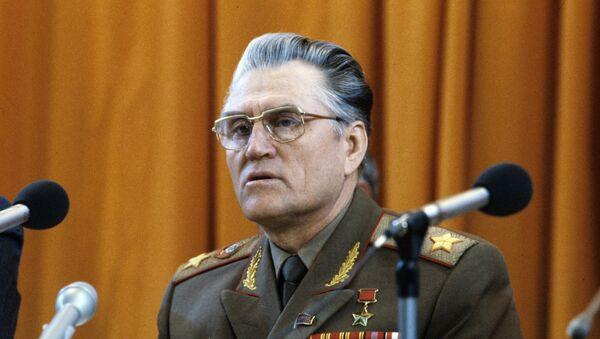 Герой Советского Союза маршал Василий Иванович Петров. архивное фото