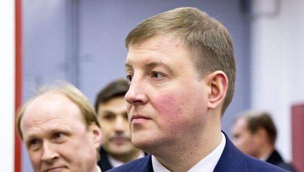 Губернатор Псковской области Андрей Турчак. Архивное фото