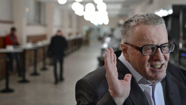 Лидер ЛДПР Владимир Жириновский на пионерских чтениях журнала Русский пионер