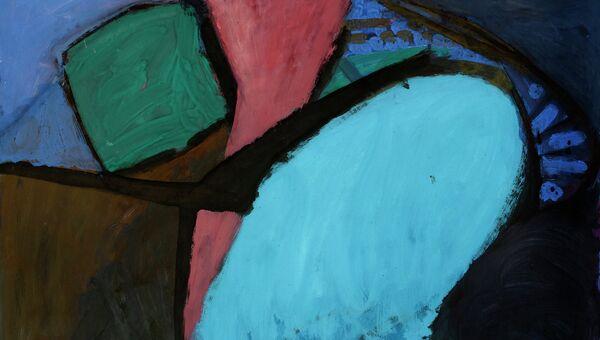 Работа с третьей выставки абстрактной графики в Новосибирске