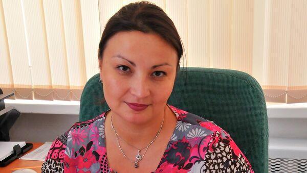 Секретарь приемной комиссии РЭУ им. Плеханова Аюрика Батуева