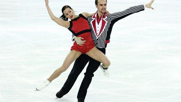 Олимпиада 2014. Фигурное катание. Команды. Пары. Произвольная программа. Фото с места событий