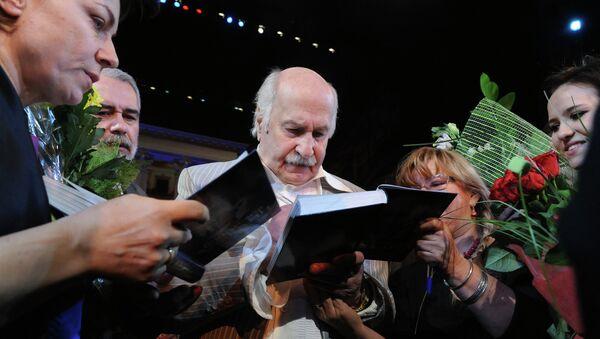 Актер Центрального академического театра Российской армии Владимир Зельдин. Архивное фото
