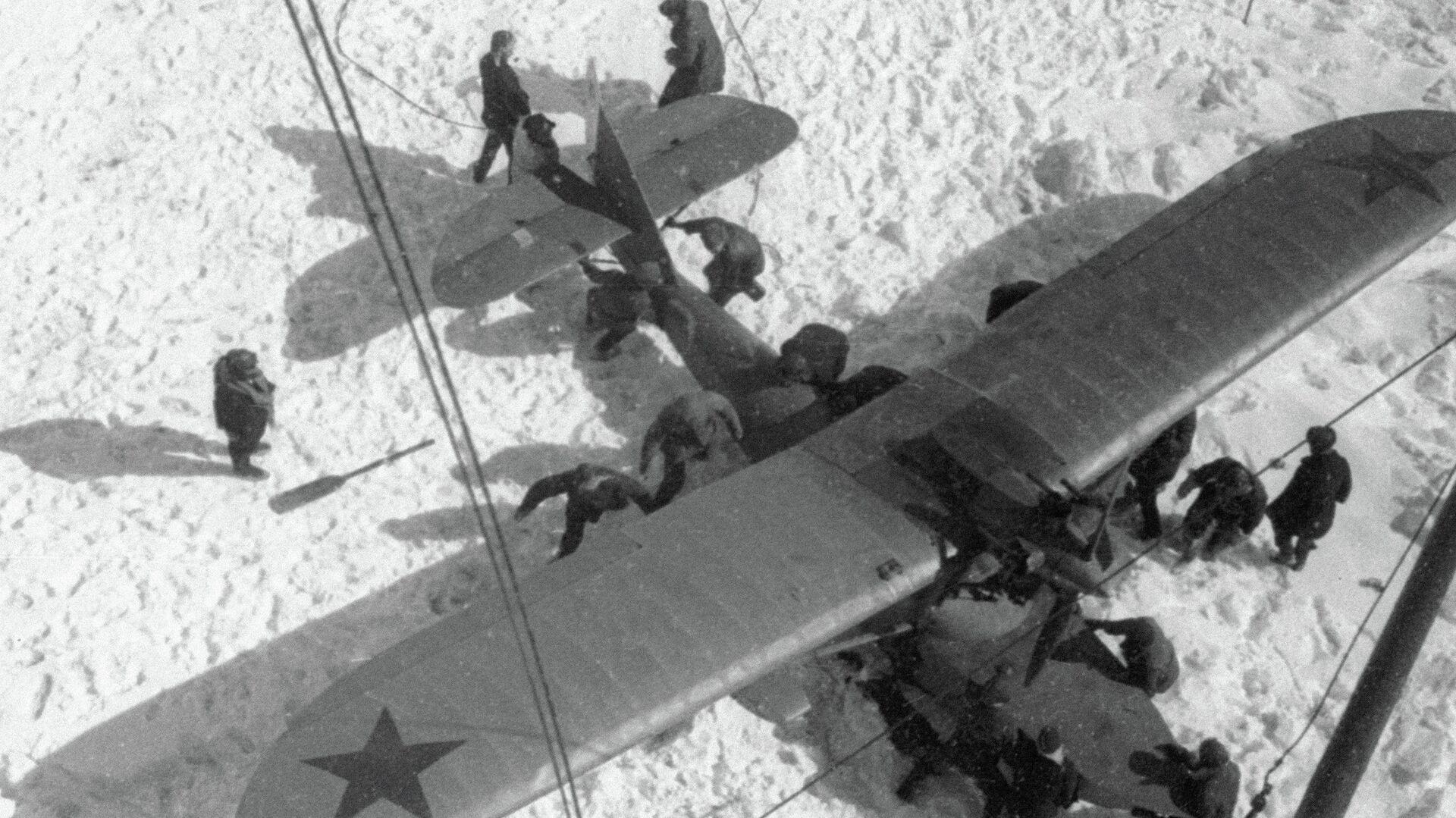 Спасение челюскинцев - РИА Новости, 1920, 20.04.2019