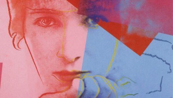 Выставка Энди Уорхол: Десять знаменитых евреев ХХ века при поддержке фонда семьи Блаватник. Сара Бернар