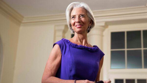 Директор-распорядитель МВФ США Кристин Лагард. Архивное фото