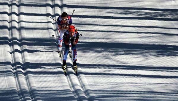 Лыжные гонки. Женщины. Архивное фото.