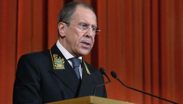 Сергей Лавров, архивное фото