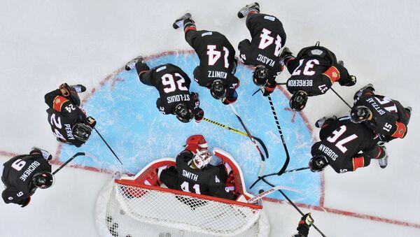 Хоккеисты сборной Канады на Играх в Сочи, архивное фото