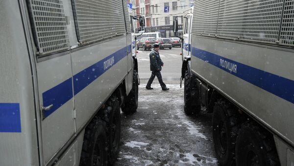 Машины полиции. Архивное фото