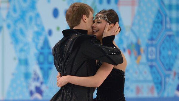 Олимпиада 2014. Фигурное катание. Танцы на льду. Произвольная программа