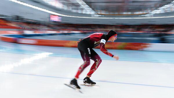 Конькобежный спорт, архивное фото