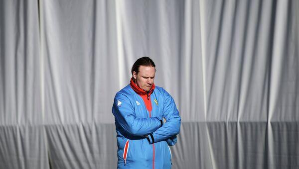 Главный тренер сборной России по бобслею и скелетону Пьер Людерс. Архивное фото