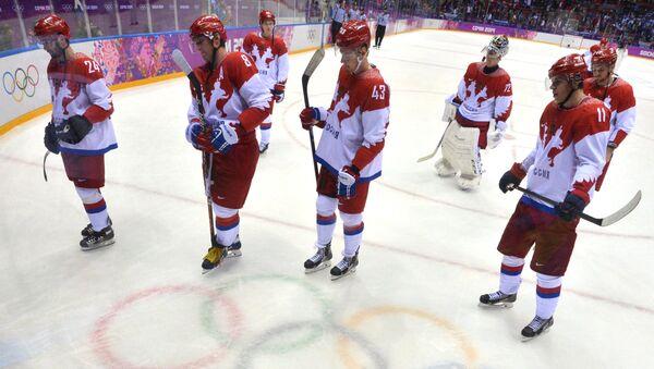 Олимпиада 2014. Хоккей. Мужчины. Финляндия - Россия. Фото с места события