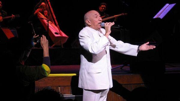 Легенда венесуэльской популярной музыки Симон Диас, архивное фото