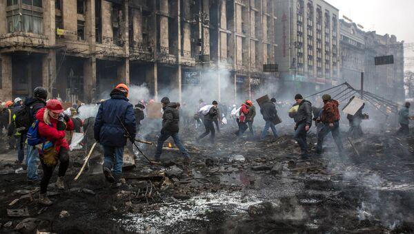 Евромайдан, архивное фото