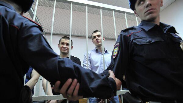 Оглашение приговора по уголовному делу о беспорядках на Болотной площади 6 мая 2012 года, архивное фото