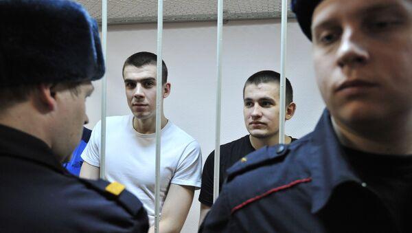 Оглашение приговора по уголовному делу о беспорядках на Болотной площади 6 мая 2012 года. Архивное фото