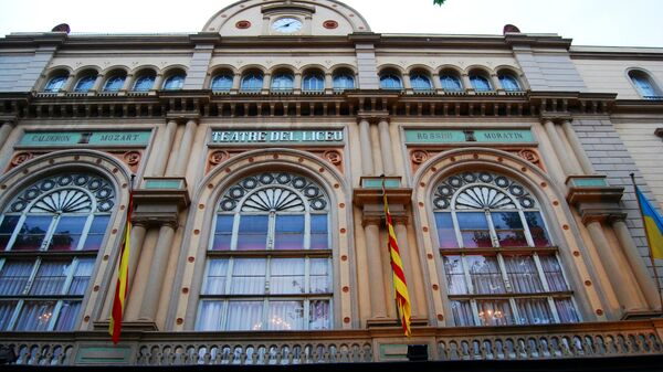 Оперный театр Лисео в Барселоне, Испания
