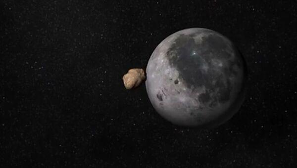 Падение метеорита в Море Облаков на Луне 11 сентября 2013 года