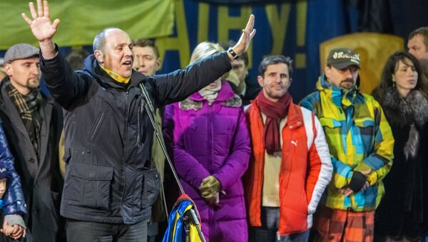 Кандидаты в новое правительство представлены в ходе Народного вече на Майдане Независимости