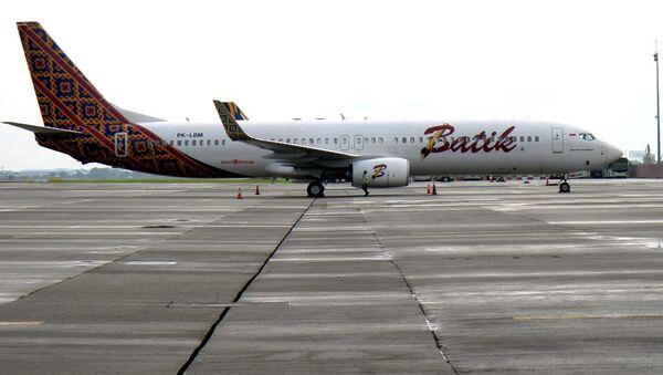 Самолет индонезийской авиакомпании Batik Air, архивное фото