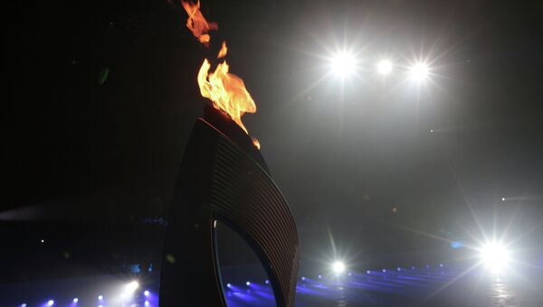 Эстафета Паралимпийского огня. Архивное фото